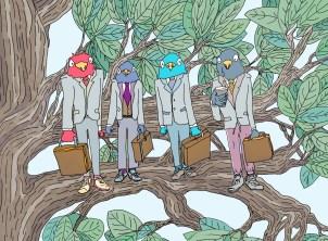 Business Birds, Birds who do Business 2012