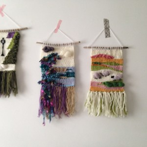 Zoeprose woven wall hangings