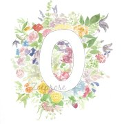 O alphabet archival print A4 | Zoeprose