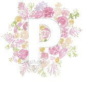 P alphabet archival print A4 | Zoeprose
