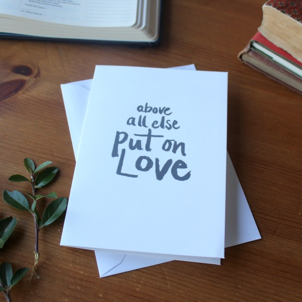 Put on Love Zoeprose