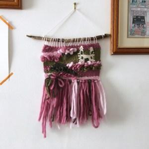 Briar Rose wall hangings  fairytale room decor, sleeping beauty nursery art