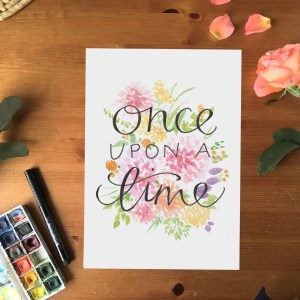 once upon a time print1