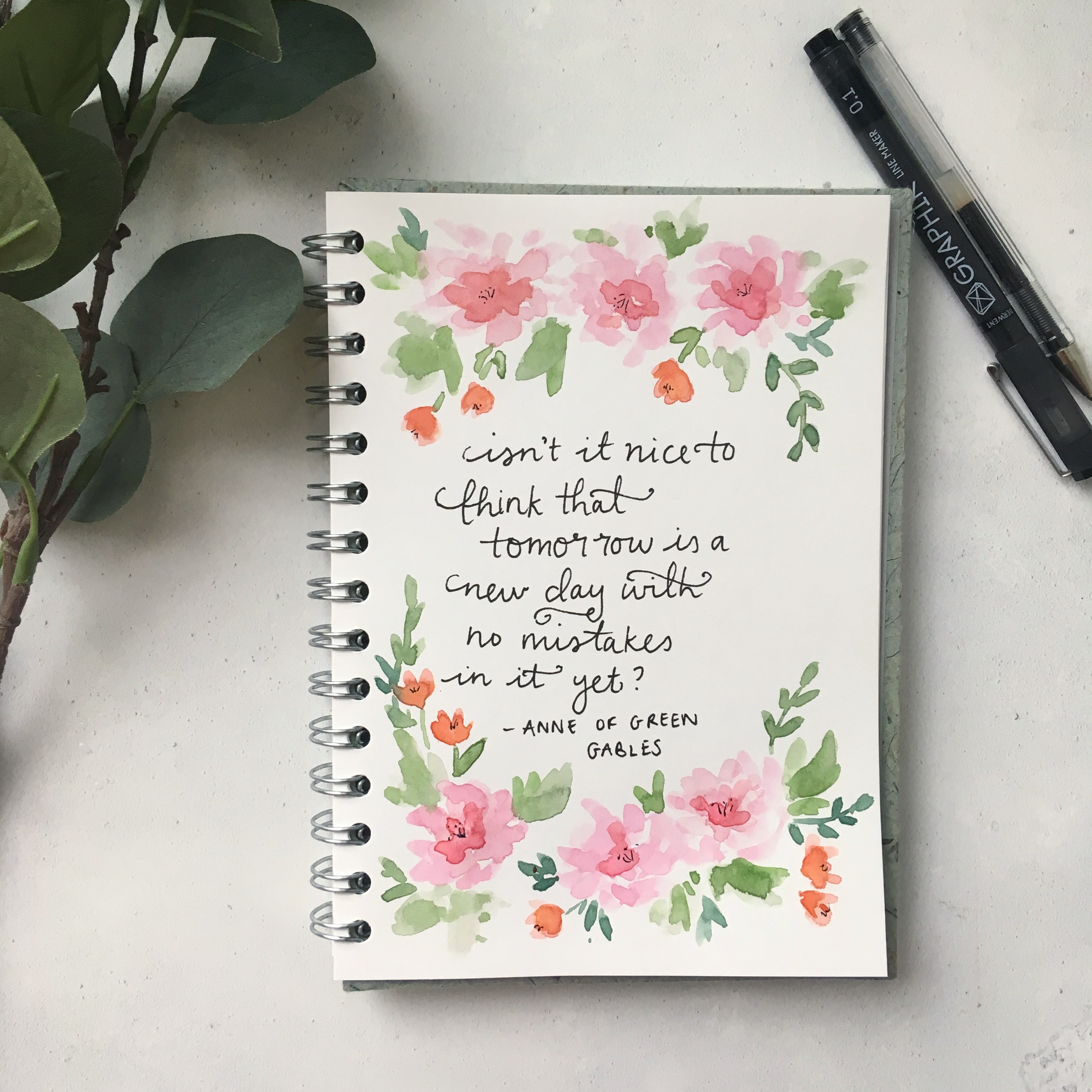 Anne of green gables quotes 100 days of flowers and prose