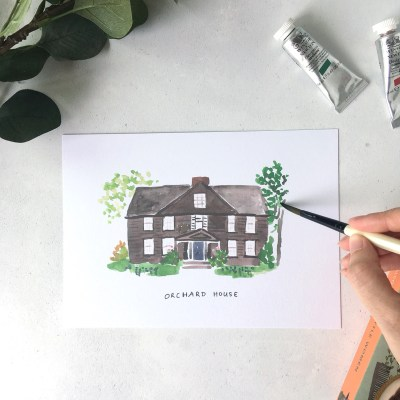 fictional house series
