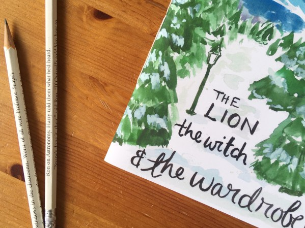 the lion the witch and the wardrobe notebook