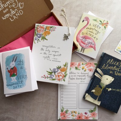 wonderland whimsy and wonderland box