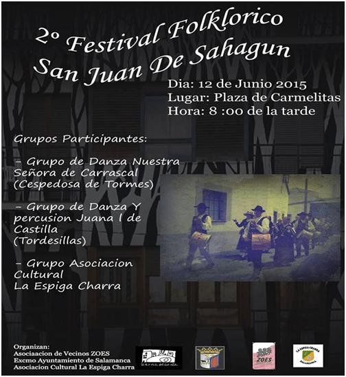 II Festival Folclórico San Juan de Sahagún Barrio del Oeste