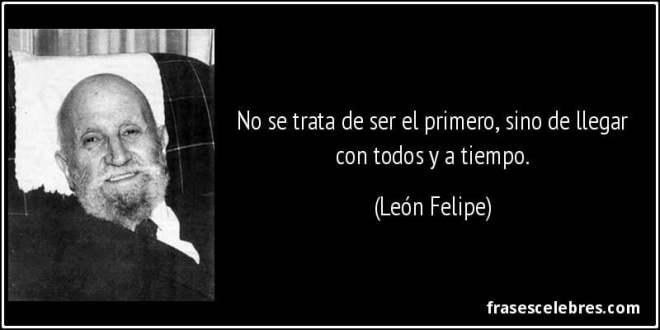 Texto de León Felipe