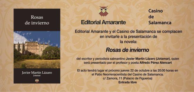 Presentación Libro Editorial Amarante