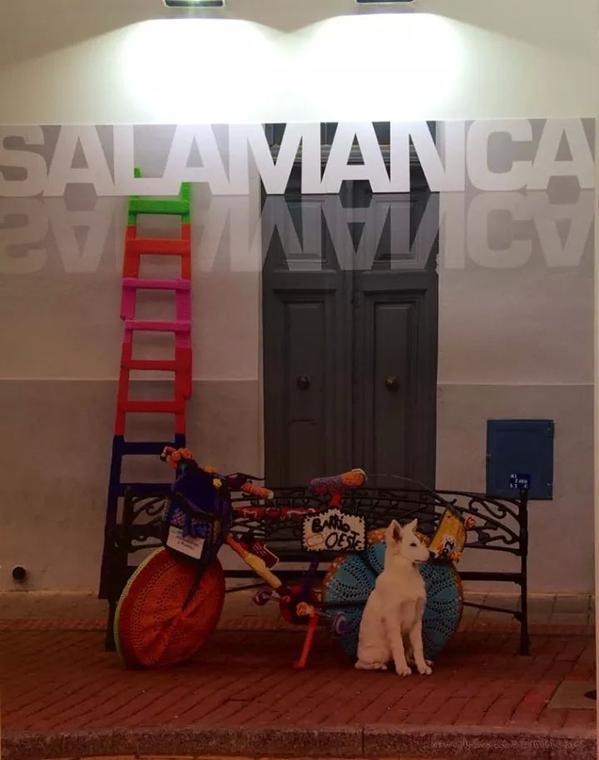 Fotografía del Barrio del Oeste en la Feria de Turismo Interior 2014. Autora Heleci Ramirez