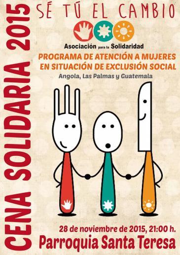 Cena Solidaria Parroquia Santa Teresa