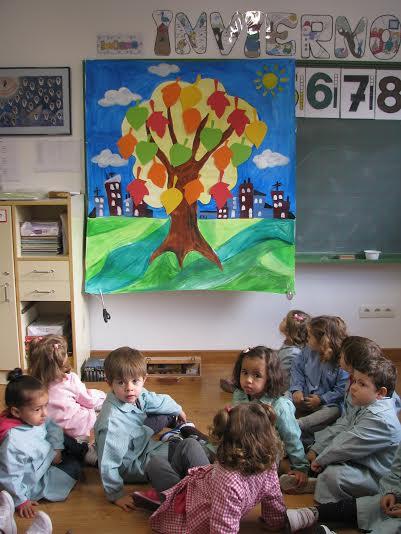 Transmitiendo arte a los más pequeños del Colegio Juan Jaén