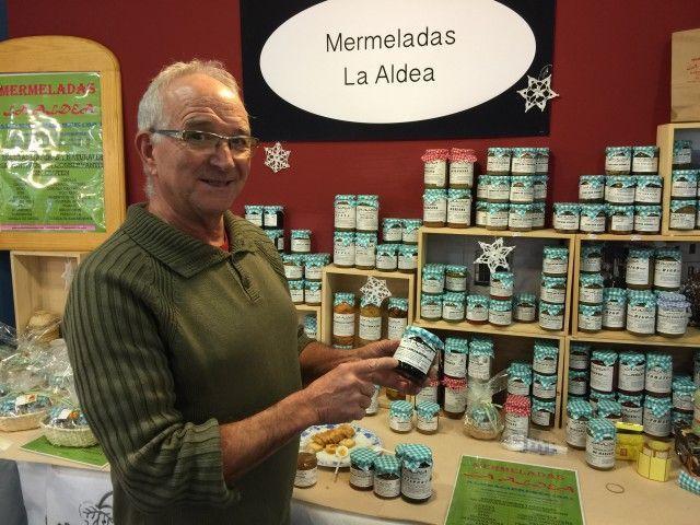 Miguel R. Sánchez, gerente de Mermeladas La Aldea