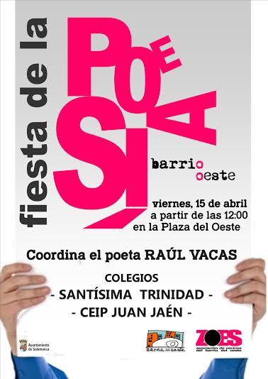 cartel dia de la poesía 2016