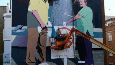 Photo of Loren y Carmen, protagonistas de la nueva obra de arte urbano