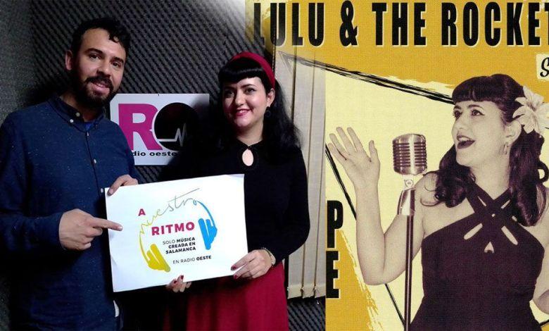 Lulú & The Rockets entrevistados en A Nuestro Ritmo