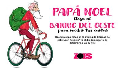 Photo of La Magia de Papa Noel en el barrio del Oeste