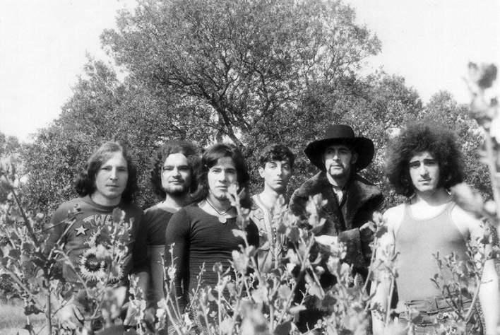 Grupo 96 en 1972. Gabi (1º por la izquierda), y Chema (3º por la derecha)