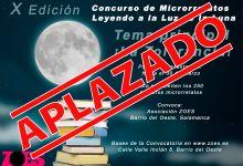 Photo of APLAZADO – Leyendo a la luz de la luna
