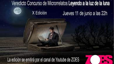 "Photo of Concurso de microrrelatos ""Leyendo a la luz de la luna"" 2020"