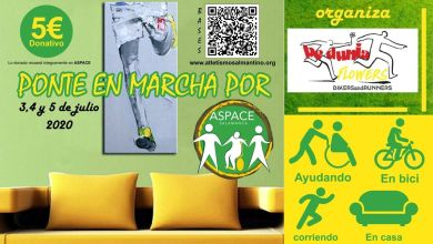 "Photo of ""Ponte en marcha por ASPACE"""