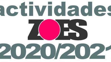 Photo of Programa de Actividades promovidas por la Asociación ZOES 2020-2021