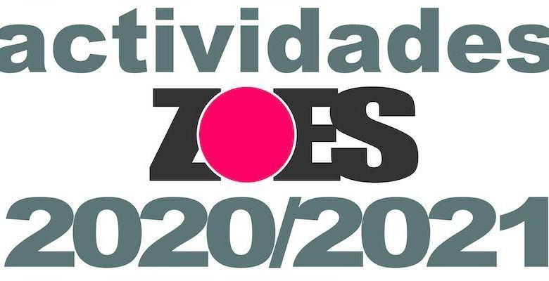 actividades zoes curso 2020-21