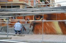 El artista urbano Nego, vuelve al Barrio del Oeste