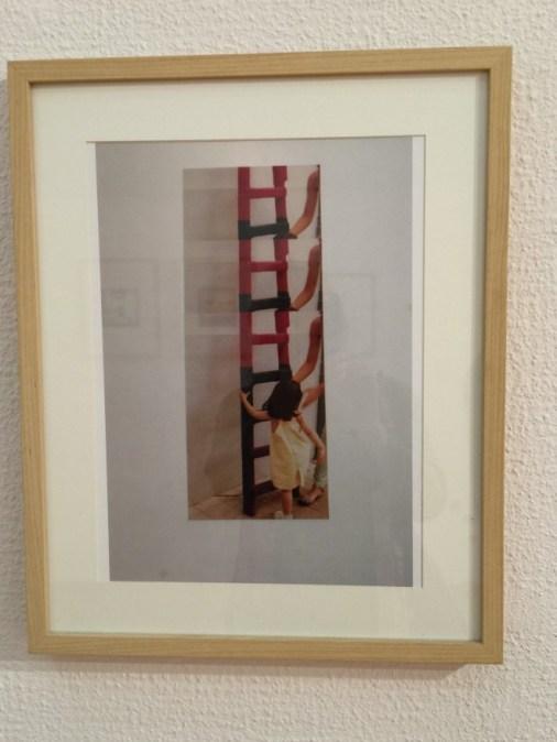 La escalera de Quedamos y Punto, también fotografiada