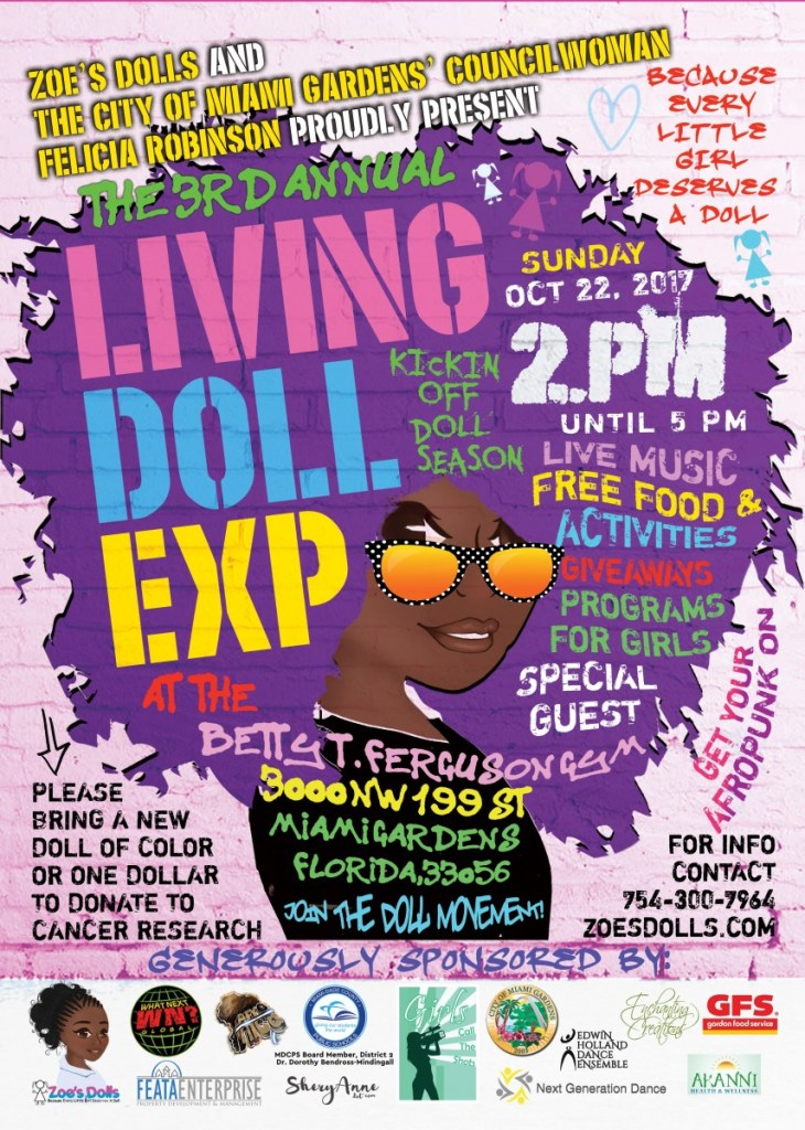 2017 Living Doll Flyer