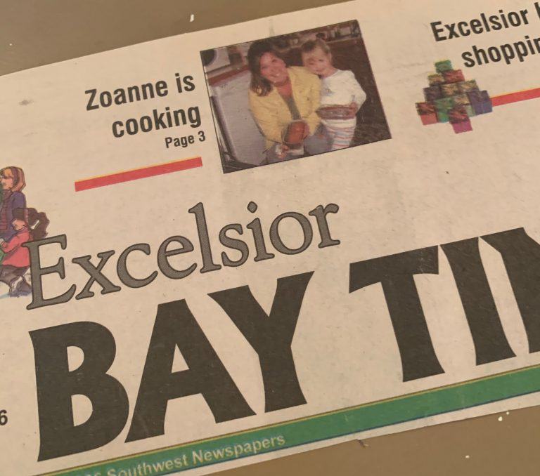 Excelsior Bay Times - Front Page