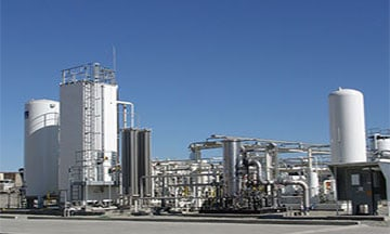 LNG production and plant process