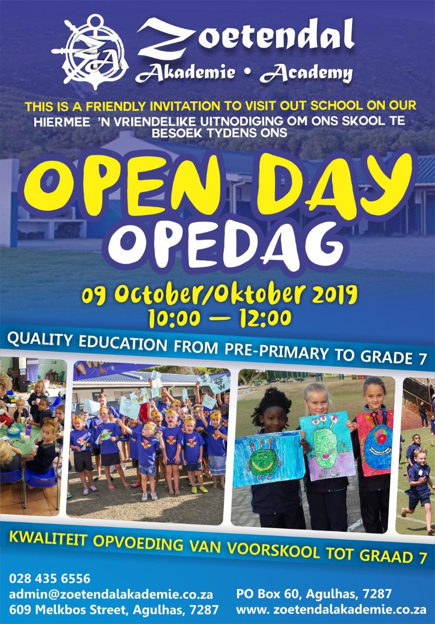 Zoetendal Opedag/ Open Day