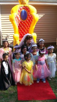 Amazing Princess Party in Raleigh, NC