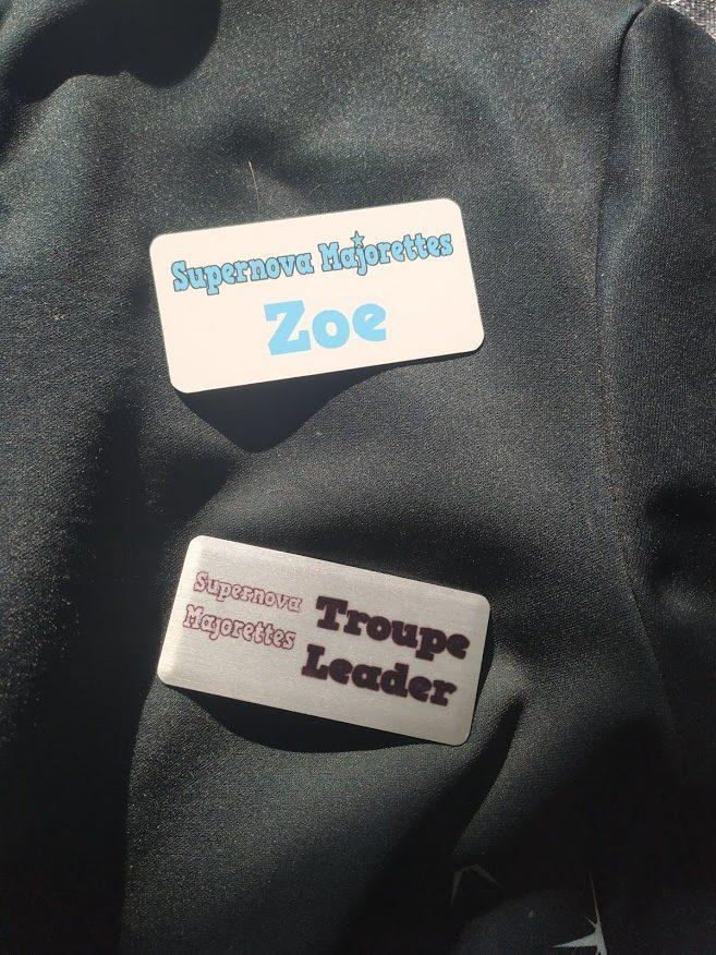 Majorette Badge designs