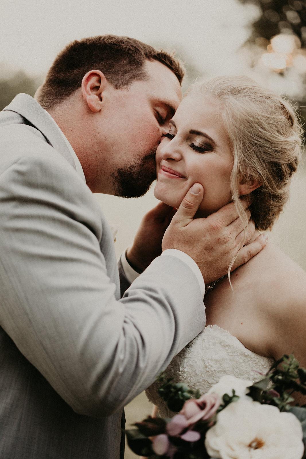 intimate summer wedding in minnesota