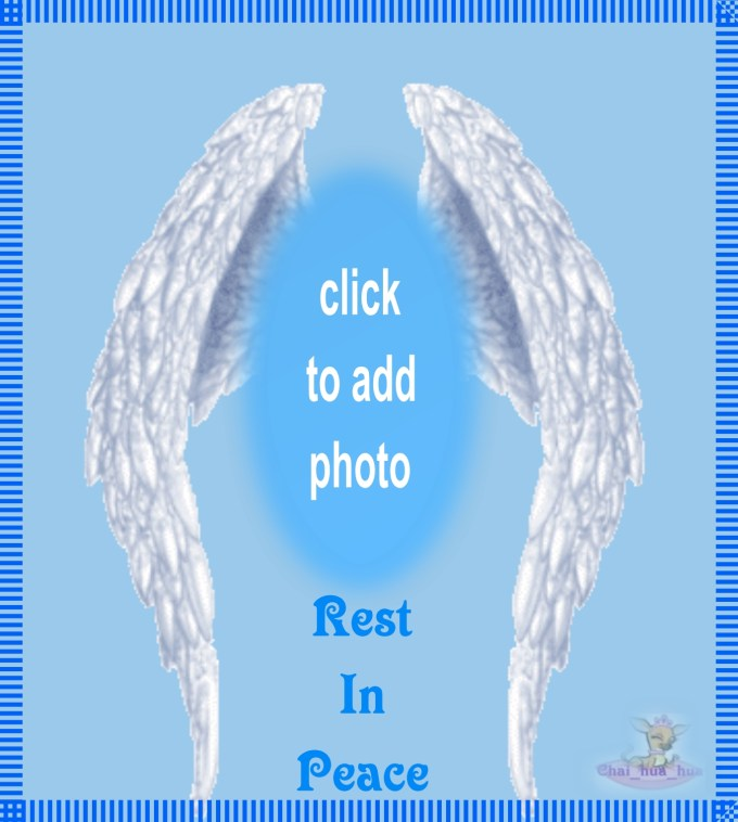 Free Rest In Peace Picture Frames Simplexpictco