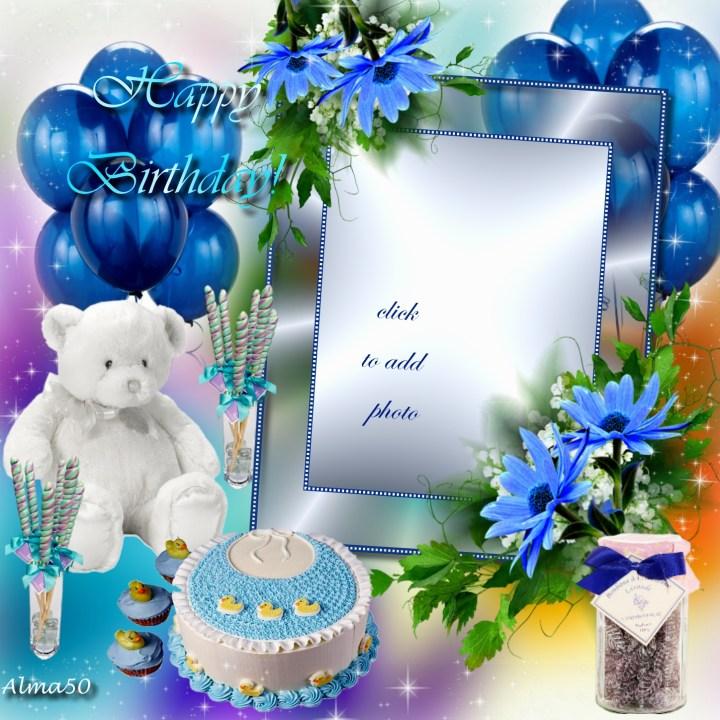 Imikimi Happy Birthday Frames For Son Frameswall