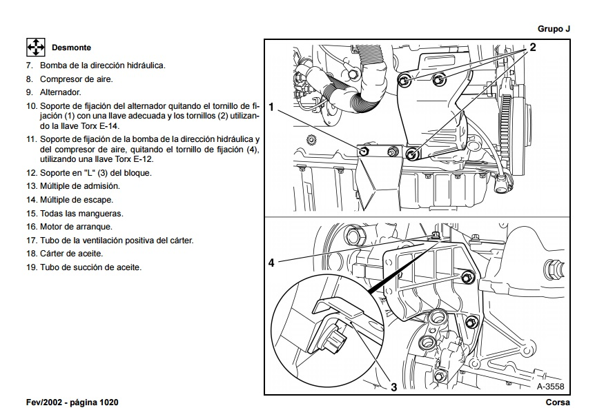 Encontrá manual: Manual de taller chevrolet montana