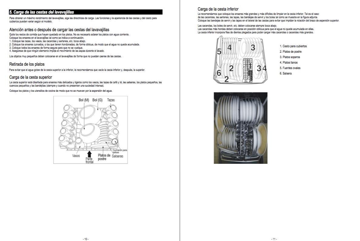 Descargar Manual lavavajillas Whirlpool ADG 175 / Zofti