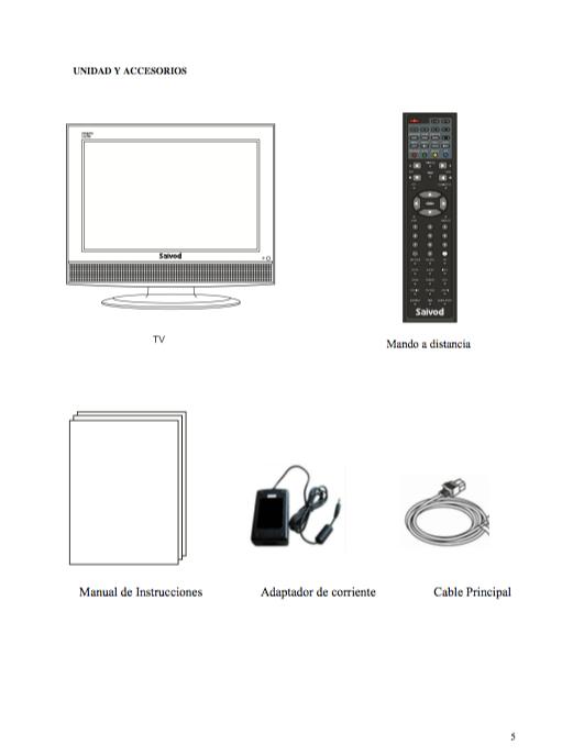 Descargar Saivod Tv manual de instrucciones / Zofti