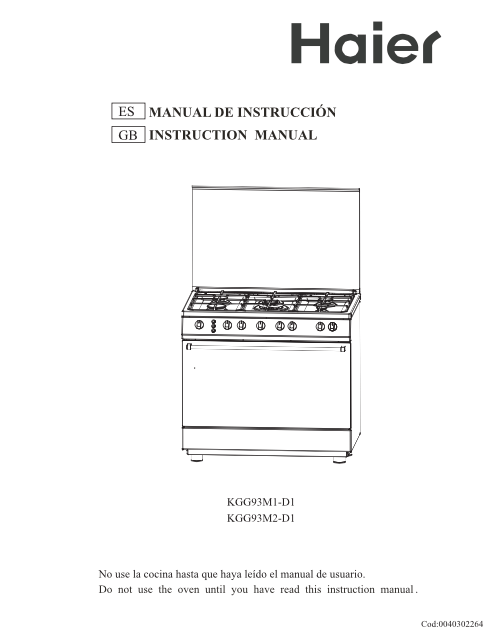 Tope De Cocina Haier  Unifeedclub
