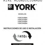 Descargar Manual de instrucciones Roca York / Zofti