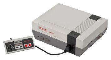 The original NES system. Photo Credit - Evan Amos