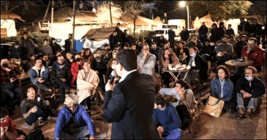 """איימן עודה בשכונת שפירא: אספת בחירות גדולה של הרשימה המשותפת בדרום ת""""א"""