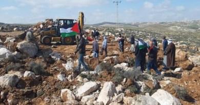 כוחות הכיבוש דיכאו ביד קשה פלסטינים שהפגינו בקרבת ההתנחלות חוות מעון