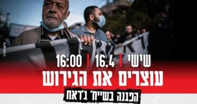 """שבוע לאחר תקיפת ח""""כ כסיף בידי שוטרים: פעילים שבים להפגין בשייח' ג'ראח"""