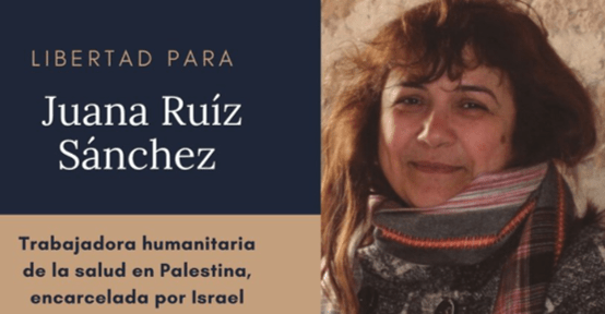 קמפיין בינלאומי לשחרור פעילה מספרד שנעצרה בשטחים; עיתונאי פתח בשביתת רעב