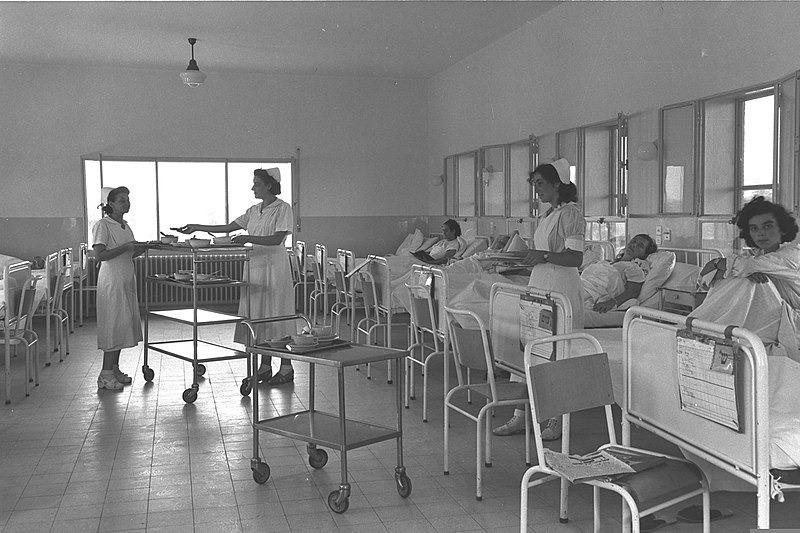שביתת הרופאים 1954 כ-2,000 רופאים נאבקו להעלאת שכרם